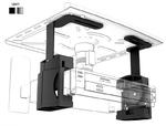 Electriclight КБ-01-9 черный кронштейн для Видео/DVD