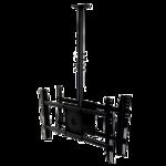 Потолочный кронштейн для двух мониторов ONKRON N3L черный