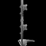 """ONKRON D208FS настольный кронштейн для двух мониторов 10""""-32"""" чёрный"""
