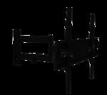 Кронштейн наклонно-поворотный для ТВ MasterKron UPA52-463