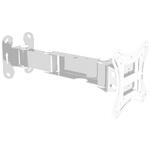 "Кронштейн наклонно-поворотный Trone LPS 51-10 белый для LCD,LED телевизора/монитора от 17"" до 23"""