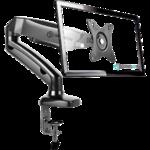 Настольный кронштейн-газлифт для монитора ONKRON G80 чёрный