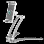 ONKRON DS-01 держатель для смартфонов и планшетов настольный,серебристый